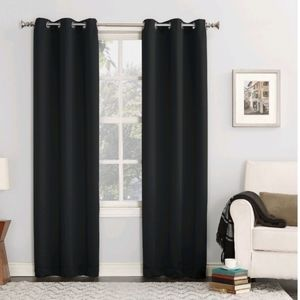 Sun Zero Blackout Grommet Curtain Panel